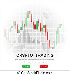 Crypto trading background