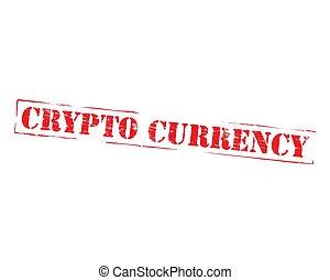 crypto, währung, urkundenstempel