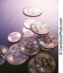 cryptocurrency, цифровой, глобальный, бизнес