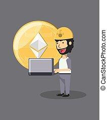 cryptocurrency, 採礦, 設計