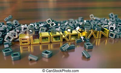 cryptocurrency, 比喩, blockchain