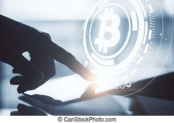 cryptocurrency, begrepp, finans