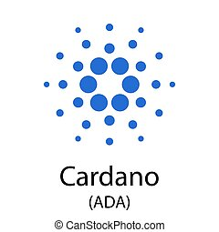 cryptocurrency, cardano, símbolo