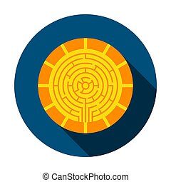 Cryptocurrency Coin Circle Icon