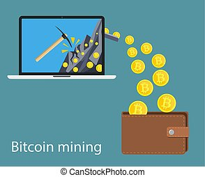 cryptocurrency, concept, technologie