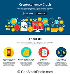Cryptocurrency Crash Website Design