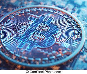 cryptocurrency, cyfrowy, ryczałt handlowy