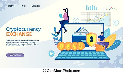 Cryptocurrency Exchange Dollar Bitcoin Ethereum -...
