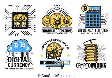 Cryptocurrency mining blockchain technology - Bitcoin...