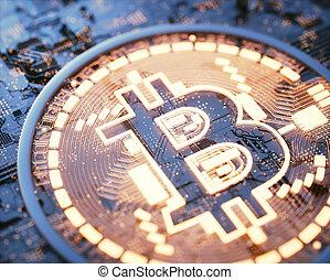 cryptocurrency, negócio global, digital