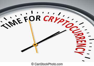 cryptocurrency, texte, pointeuse