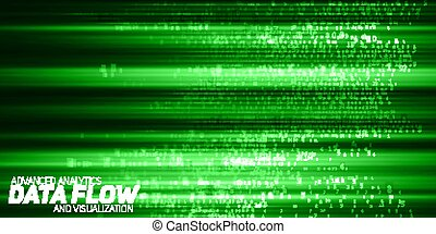 cryptographic, informacja, kodeks, representation., potok, strings., cielna, abstrakcyjny, visualization., blockchain, potok, wektor, data., zielony, takty muzyczne, kodowany, transfer., bitcoin, dane, analysis.