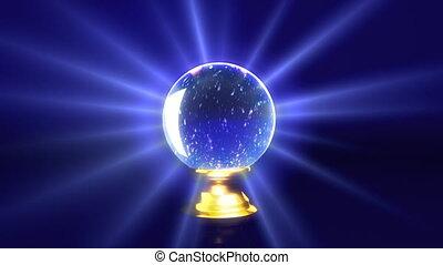 crystal ball future snow