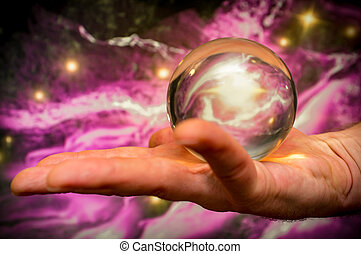 Crystal Ball Galaxy