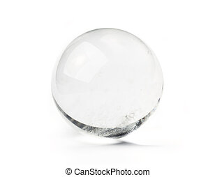 Crystal ball - Natural quartz crystal ball - used for...