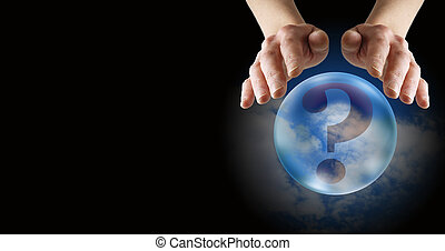 Crystal Ball Readers web banner - What does the future hold...