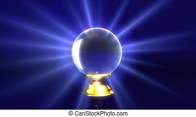 crystal ball track out - guess the future