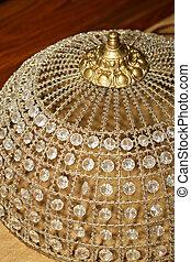 Crystal bonnet detail