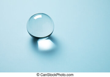 crystal clear ball, model