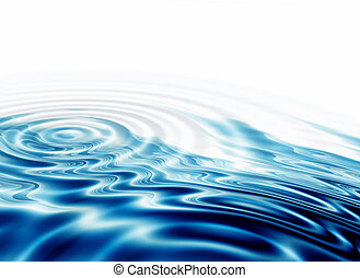 crystal clear water ripples - Illustration of crystal clear...