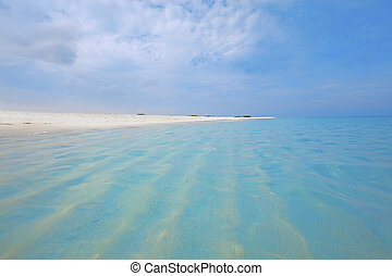 Crystal clear waters - Crystal clear water on the exotic...