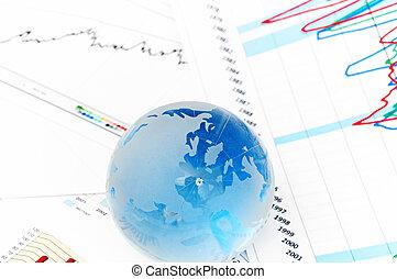 Crystal Global on Financial Chart - blue Crystal Global on...