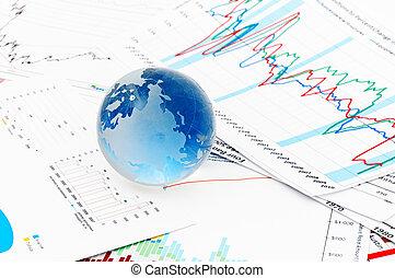 Crystal Global - Crystal blue Global on a Financial Chart