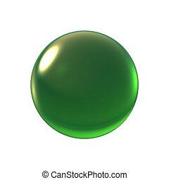 crystal green ball