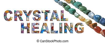 CRYSTAL HEALING banner