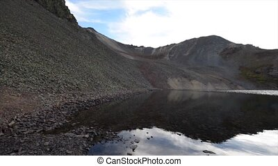Crystal Lake, at the top of 11,789 foot Ophir Pass,