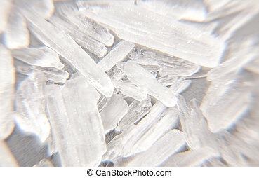 Crystal meth - Methamphetamine also known as crystal meth