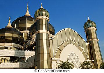 Crystal Mosque or Masjid Kristal in Kuala Terengganu,...