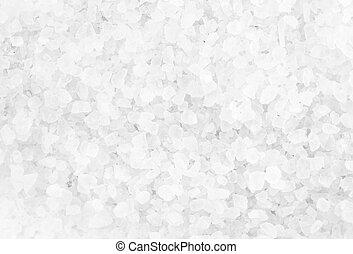Crystal Sea Salt may use as background, closeup