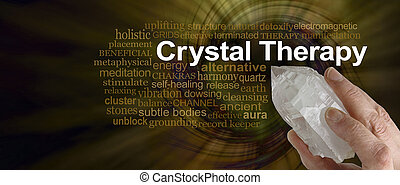 Crystal Therapy Word Cloud