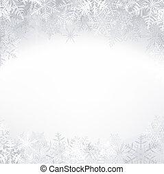 crystallic, snowflakes., natal, fundo