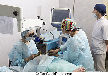 Crystalline lens replaceable surgical method - Lasik - laser...