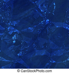 Crystalline mineral facets texture