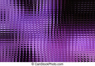 Crystallized - Abstract background comprised of black,...