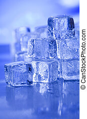 Crystals ice cubes - Ice can refer any of the 14 known solid...