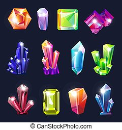 Crystals uncut gemstones geology and jewelry materials natural resources