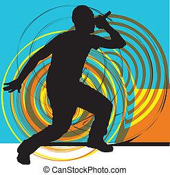 csípő táncol, művész