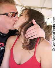 csókolózás, párosít