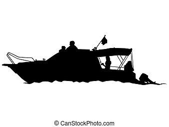 csónakázik, cirkálás
