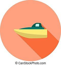 csónakázik, gyorsaság