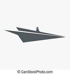 csónakázik, origami, dolgozat, gyalul