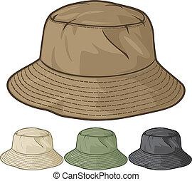 csöbör kalap, gyűjtés