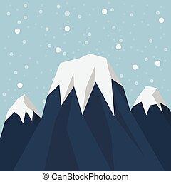 csúcs, hegy