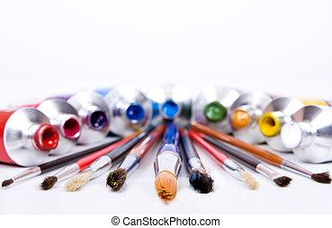 cső, festék