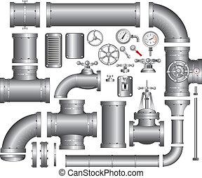 csővezeték, állhatatos