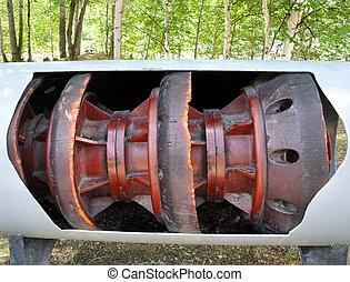 csővezeték, disznó, olaj